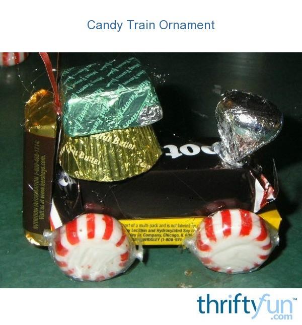 Christmas Candy Train.Candy Train Ornament Thriftyfun