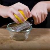 Storing Citrus Zest