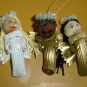 Finished angels.