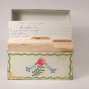 Recipe Box.