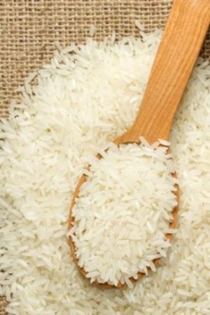 White rice.