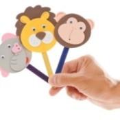 Making Stick Puppets