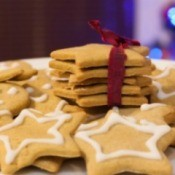 Star Shaped Gingerbread Cookies