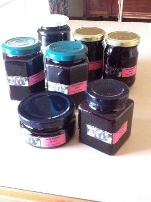 Jars of jam.