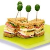 Creative BLT Sandwich