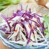 Red Cabbage on Salad