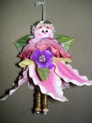 Making Silk Flower Angels