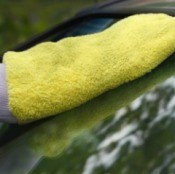 Cleaning Car Windshield