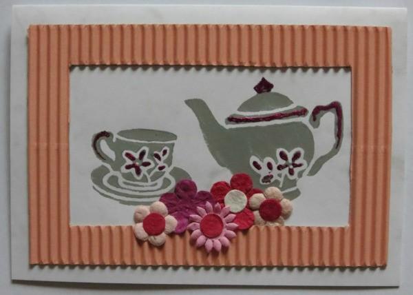 Handmade Party Invitations – Handmade Tea Party Invitations