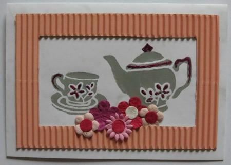 Homemade Tea Party Invitations