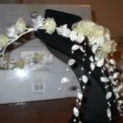 Making a Bridal Headpiece