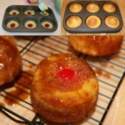 Muffin Tin Pineapple Upside Down Cake