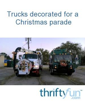 Christmas Float Ideas.Christmas Parade Float Ideas Thriftyfun