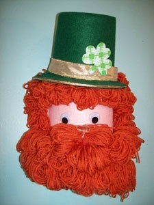 Recycled Leprechaun Craft