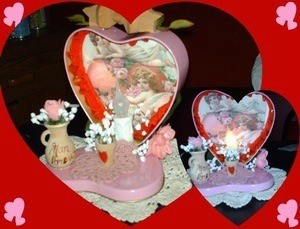 A Valentine's day craft.