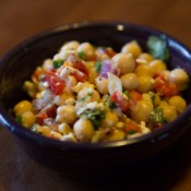 feta bean salad