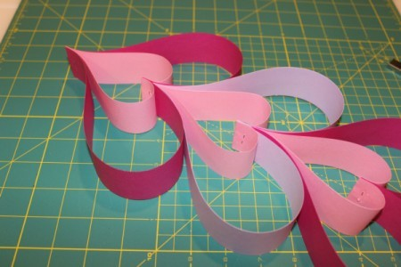 glueing hearts together