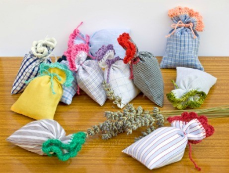 Making Scented Sachets