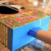 Cereal Box Guitar