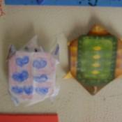 Origami Turtles