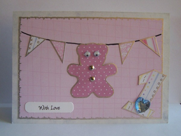 Baby Bunting Birthday Card Thriftyfun