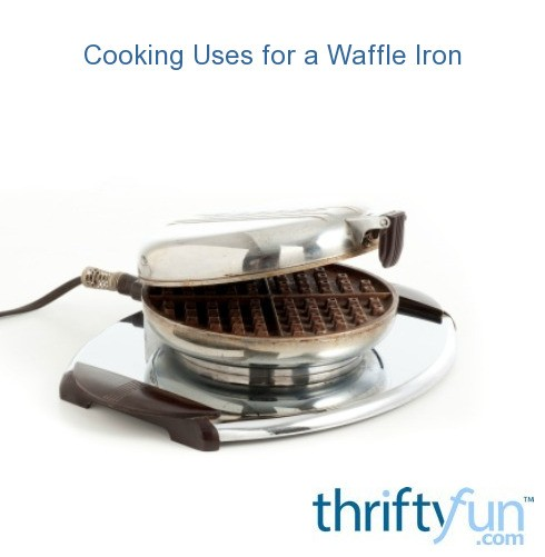 Cooking Uses For A Waffle Iron
