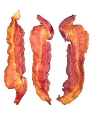 A photo of delicious bacon.