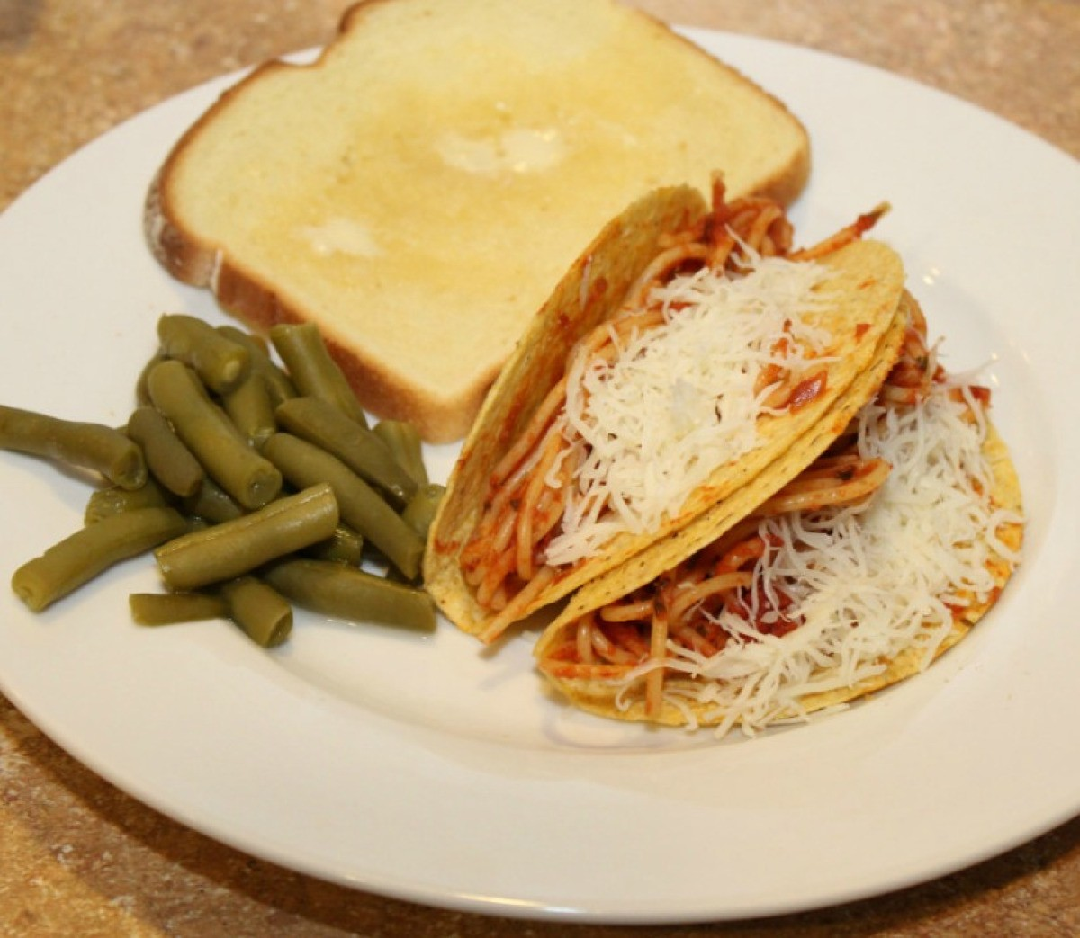 Spaghetti Tacos Thriftyfun