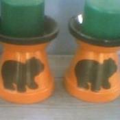 Bear Candleholders
