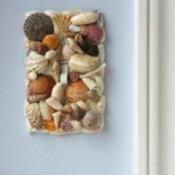 sea shell switch plate