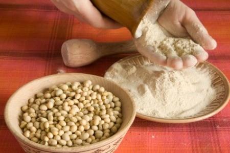 Using Soy Flour
