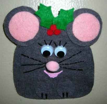 Felt Mouse Pin Craft