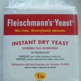Package of Fleischmann's yeast.