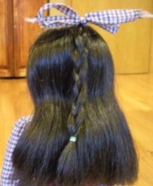 Samantha witha braid.