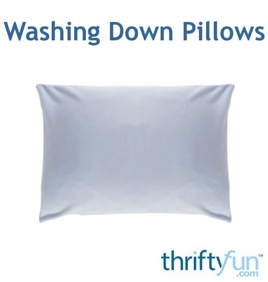 Washing Down Decorative Pillows : Washing Down Pillows ThriftyFun