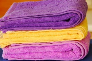 Dyeing Bath Towels