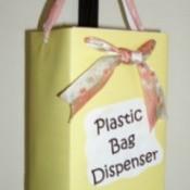 A Plastic Bag Dispenser