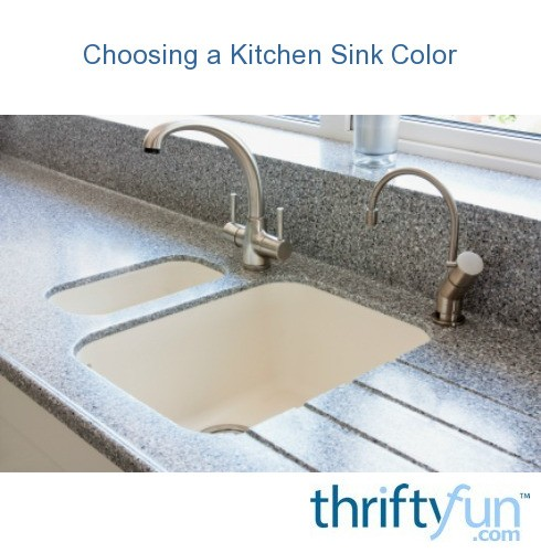 Choosing A Kitchen Sink Color Thriftyfun