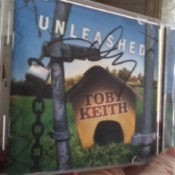 Toby Keith's Autograph