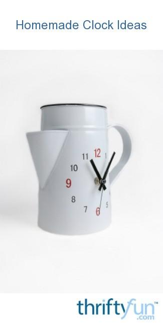 Homemade Clock Ideas