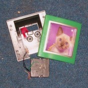 Convert a Clock Into a Picture Frame