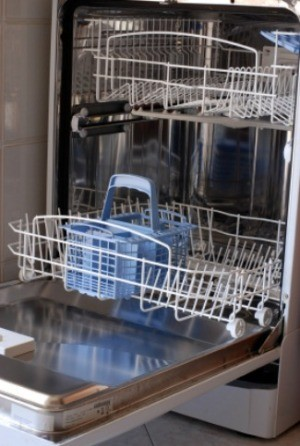 Removing Soap Scum from Dishwasher