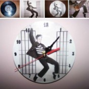 Making a Record Album Clock