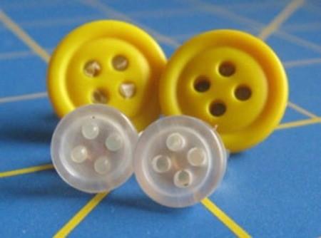 Post Button Earrings