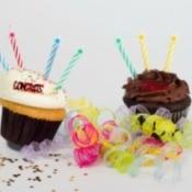 High School Graduation Party Cupcake Centerpiece