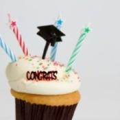 High School Graduation Party Cupcakes