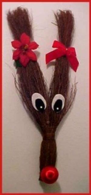 Cinnamon Broom Deer
