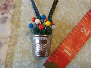 Making a Thimble Necklace