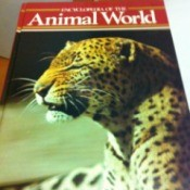 Cover of Animal World book.