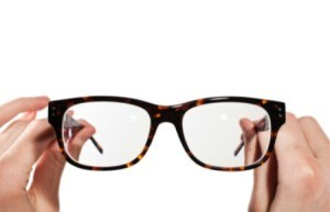 Super Glue on Eyeglasses